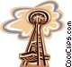 Seattle Space Needle Vector Clipart picture