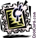 stamp Vector Clipart image