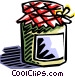 home preserves Vector Clipart graphic