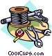 wire Vector Clipart illustration