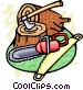 logging tools Vector Clip Art image