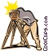 old-fashioned photographer Vector Clip Art picture