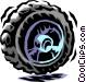 tire Vector Clip Art image