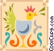 rooster Vector Clipart picture