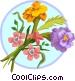 Marigold bouquet Vector Clipart image
