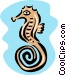 seahorse Vector Clip Art picture