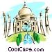 Taj Mahal Vector Clip Art picture