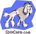 clipped poodle Vector Clip Art image