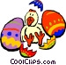 Easter chick Vector Clipart illustration