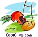 football equipment Vector Clip Art picture
