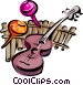 musical motif Vector Clipart picture