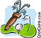 golf Vector Clipart illustration