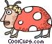 ladybug concept Vector Clipart illustration