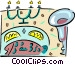 dining Vector Clipart graphic