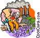 Environment concern Vector Clip Art graphic