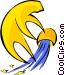 Aquarius symbol Vector Clip Art picture