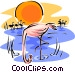 flamingo Vector Clipart picture