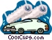 carwash Vector Clipart illustration