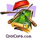 Billiards motif Vector Clipart picture