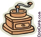 food grinder Vector Clipart illustration