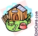 doghouse Vector Clipart image