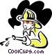 fireman Vector Clip Art picture
