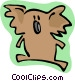 koala bear Vector Clip Art picture
