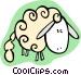 sheep Vector Clipart illustration