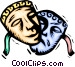 Theatre masks Vector Clip Art image