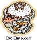 Food and dining baked goods Vector Clipart graphic