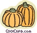 pumpkins Vector Clip Art graphic