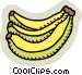 Bananas Vector Clipart picture