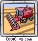 bulldozer/construction Vector Clip Art picture