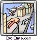industry/factory Vector Clip Art picture
