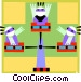 carnival ride Vector Clipart picture