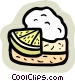 food and dining/pie Vector Clip Art picture