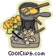 food and dining/home made Vector Clip Art picture