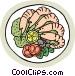 Shrimp cocktail Vector Clip Art picture