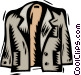 jacket Vector Clipart illustration