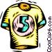 jersey Vector Clip Art image