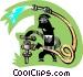 plumber Vector Clip Art graphic