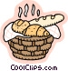 baked goods Vector Clipart illustration