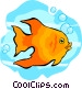 gold fish Vector Clipart picture