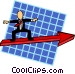 business direction Vector Clip Art image