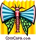 stylized bug Vector Clipart picture