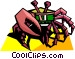 stylized crab Vector Clip Art graphic
