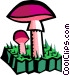 mushrooms Vector Clip Art picture