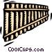 pan flute Vector Clip Art image