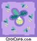 decorations Vector Clipart illustration