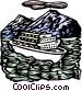 Cruise ship Vector Clipart image